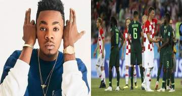 'World Cup Is Not For Boys'- Patoranking Reacts To Super Eagles Loosing To Croatia
