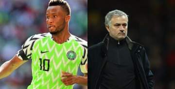 Mikel Obi a bad number 10 for Super Eagles - Mourinho speaks on Nigeria's loss to Croatia