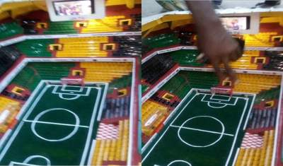 14-Year-old boy constructs a fully equipped prototype stadium in Aba