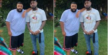 DJ Khaled And Davido Meet Up In LA, Set To Collabo On Afrobeats Vibes