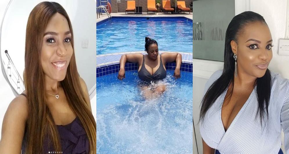 """""""Are You Bisexual, Why Do You Like My Boobs"""" - Funke Adesiyan Blasts Linda Ikeji"""