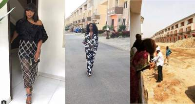 Genevieve Nnaji completes her Abuja estate (Photos)