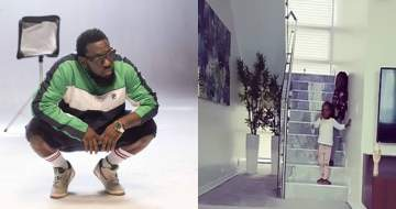 'Women are the same' - Timaya laments after his daughters won't stop interrogating him (Video)