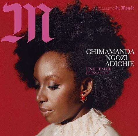 Chimamanda Adichie Covers French Magazine M Lemonde