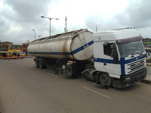 Diesel Filled Truck
