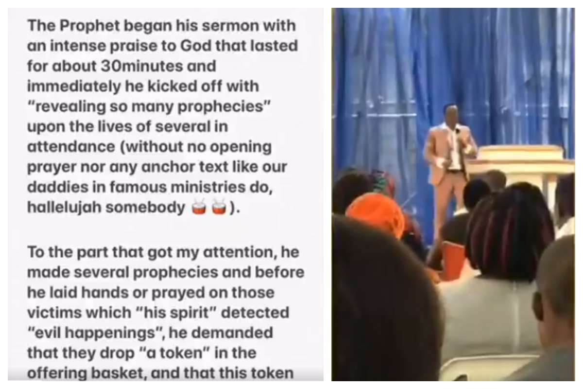 Ghanaian Pastor Asking Congregants To Pay To Touch Him Lailasnews 2
