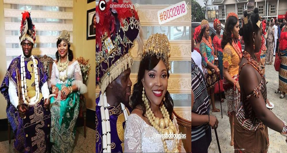 Photos From Olu Jacobs And Joke Silvau2019s Sonu2019s Traditional Marriage Lailasnews 6  Tile Tile