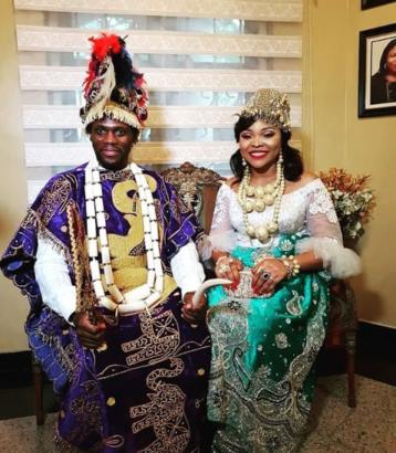 Photos From Olu Jacobs And Joke Silvau2019s Sonu2019s Traditional Marriage Lailasnews 6  Tile