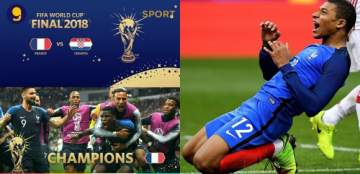 France are World Champions, beat Croatia in six-goal thriller