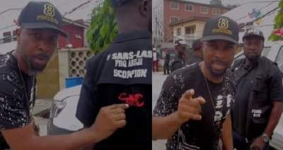 'How to Identify 'real' SARS officers' - Ruggedman shares video