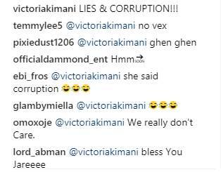 Victoria Kimiani Accuses