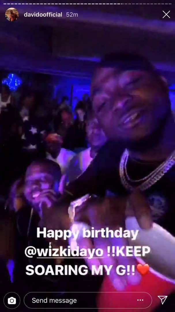 Davido Celebrates Wizkid Birthday 01
