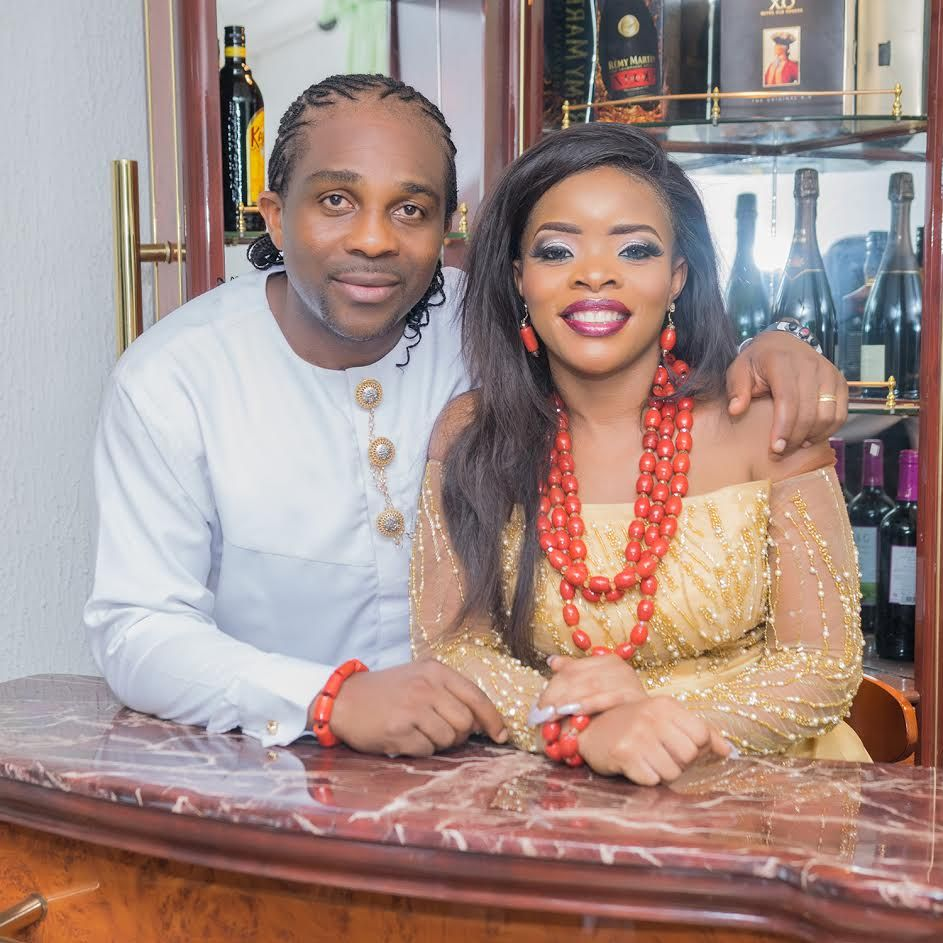 Laura Ikeji And Husband