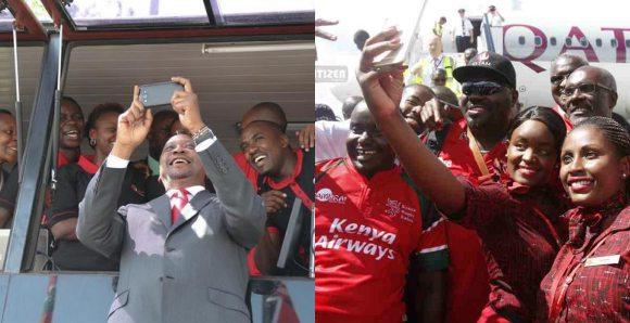Uhuru Selfie Tile