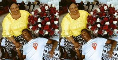 Wizkid Shares Lovely Photo With Mum