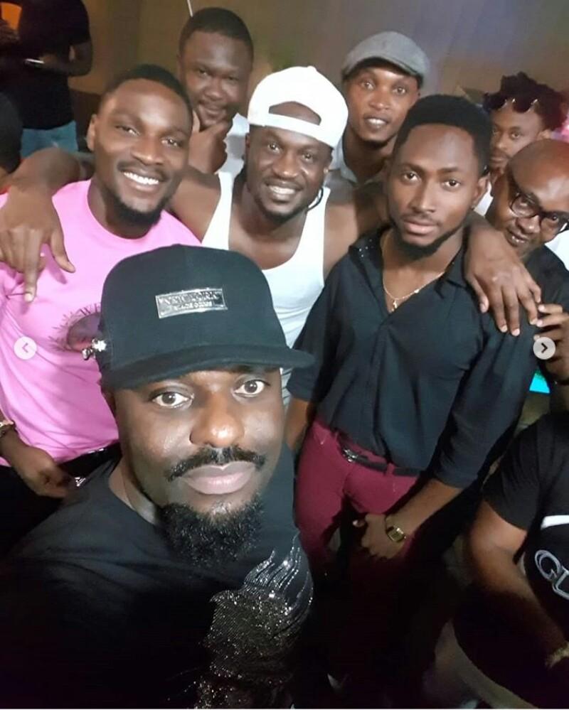 Jim Iyke, Tobi, Miracle, Timaya, & Phyno Storm Paul Okoye's Twins' 1st Birthday Party (Photos)