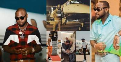 Davido's gets delivery of his private jet in Lagos (photo)