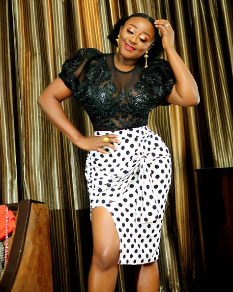 Ini Edo Sparks Engagement Speculations As She Flaunts Ring Lailasnews 2