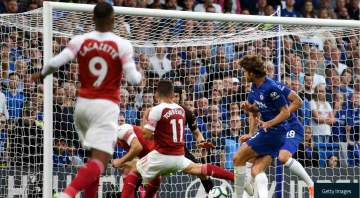Chelsea 3 Arsenal 2: Alonso snatches win after Alex Iwobi's goal for Arsenal