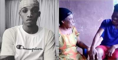 Tekno To Give An Elderly Woman N500k For Naming Him Best Artiste (Video)