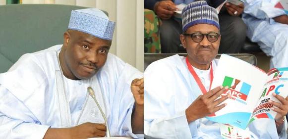 Tambuwal Meets President Buhari Assures Peaceful Resolution Tile