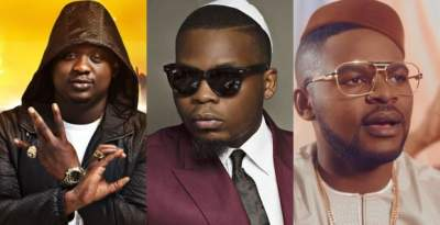 NBC bans Falz, Wande Coal, and Olamide's songs for vulgar lyrics