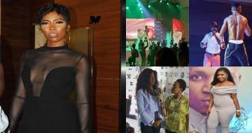 Tiwa Savage, Harrysong and BBNaija stars turn up for Humblesmith's The Osinachi Concert (Photos+Video)