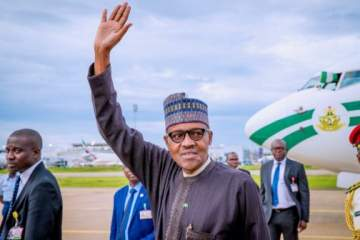 President Buhari returns to Abuja after his 10-day vacation in London.