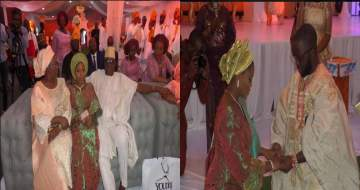 Photos from Governor Ayo Fayose's daughter wedding to Odunlade Royal Family