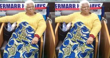 Children abandon their 78-yr-old mom at the Lagos airport