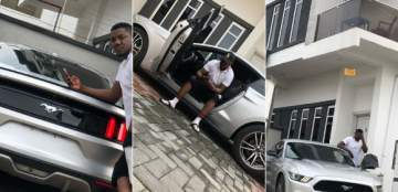 Rapper, CDQ, acquires a new Ford Mustang ride...