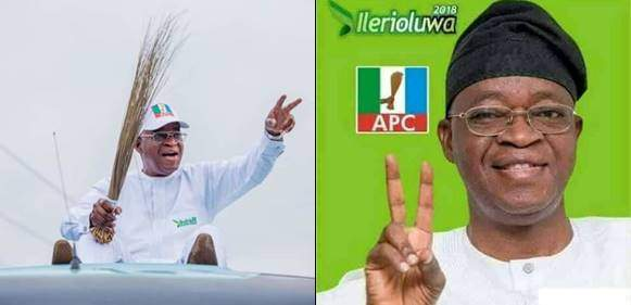 APC's Oyetola has been declared  winner of Osun governorship election By INEC