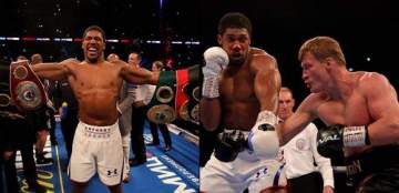 Anthony Joshua crushes Povetkin to maintain world heavyweight titles