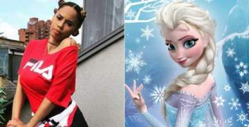 Wizkid's babymama reacts to Disney making Elsa a lesbian in Frozen 2; says our world is coming to a dreadful end