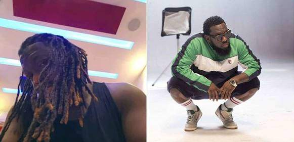 Timaya Shows Off His New Dreadlocks Hairstyle Lailasnews 1 1  Tile