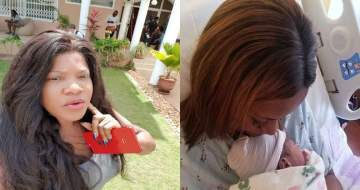 'I Am Next' - Toyin Abraham reacts to Linda Ikeji's baby delivery