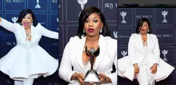 Toyin Lawani Wins Best Female Fashion Designer of the Year at IARA