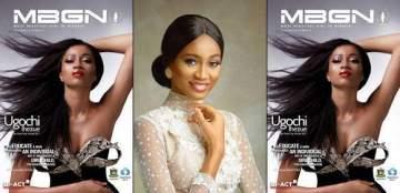 MBGN World 2017 Ugochi Ihezue glows as she covers MBGN magazine