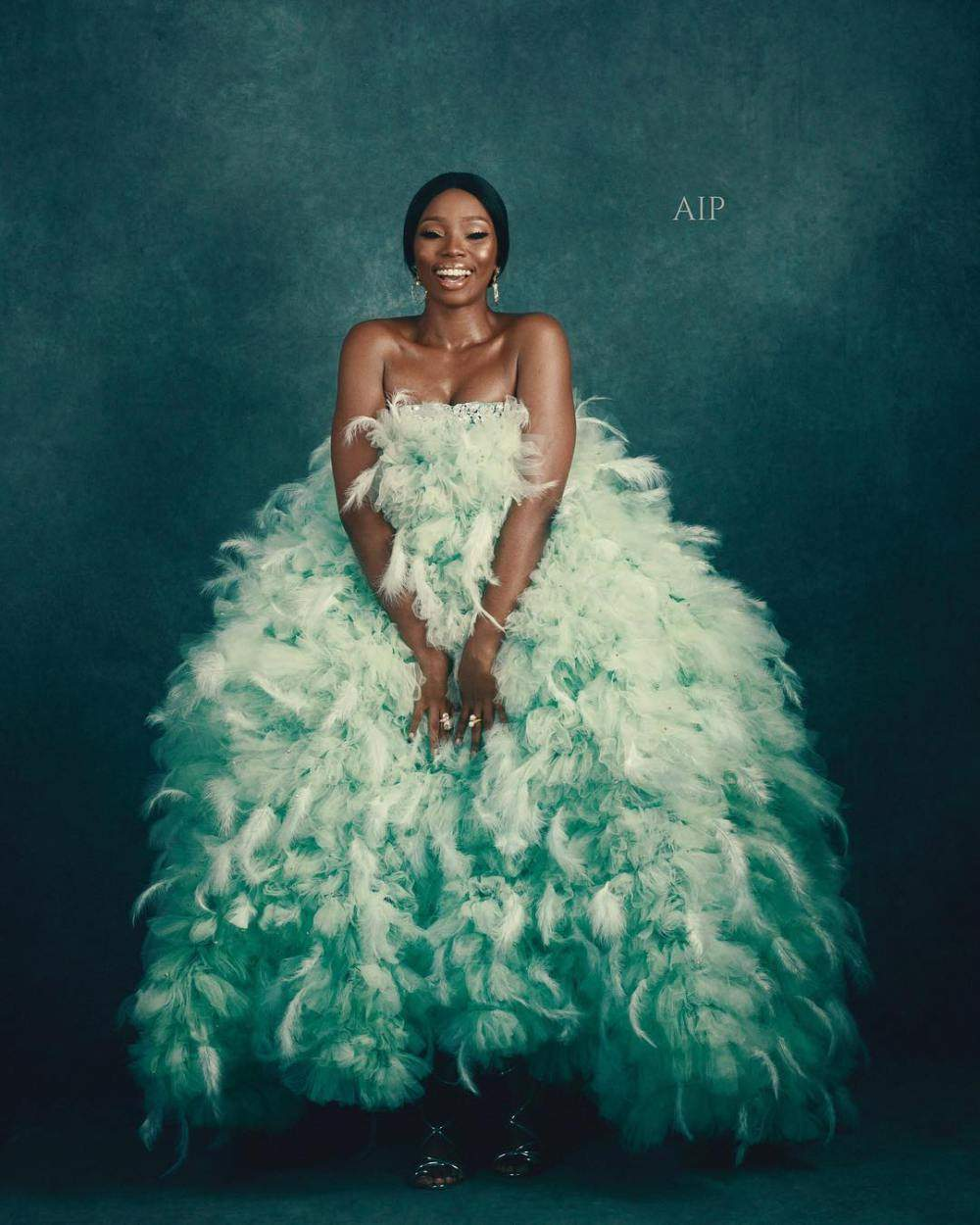 1535952384_672_Fashion Is Art Bam Bam Hits Back At Critics Of Her AMVCA Dress