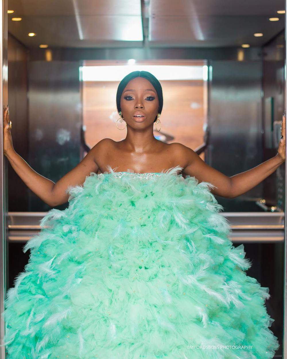 1535952386_135_Fashion Is Art Bam Bam Hits Back At Critics Of Her AMVCA Dress