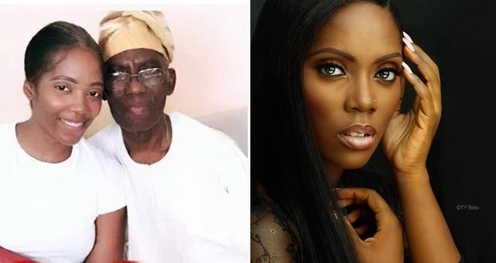Tiwa Savage Shares Beautiful Photo With Her Dad To Celebrate His Birthday Lailasnews1 Tile