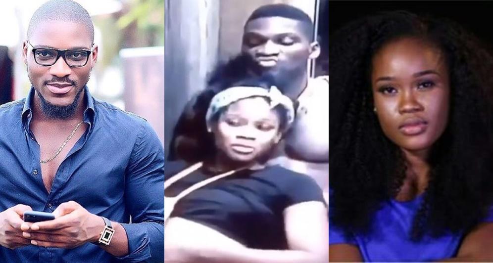 #BBNaija: Tobi Caught Mocking Cee-C During Conversation (Video)