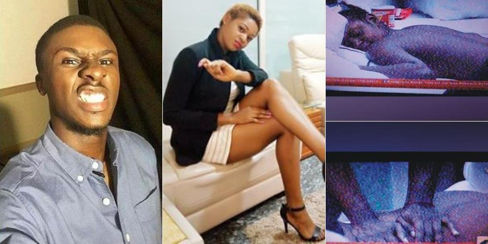 #BBNaija: Topless Ahneeka Receives Body Massage From Lolu (Photos + Video)