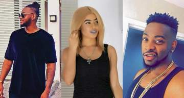 #BBNaija: Nigerians react as Teddy A & Nina become strategic new partners