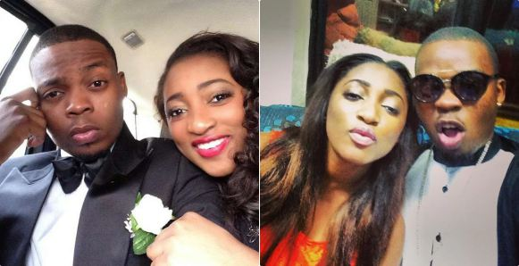 Nigerian Rapper Olamide And His Baby Mama And Girlfriend Adebukunmi Suleiman Tile