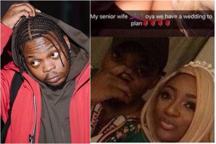 Olamide Proposes To His Babymama Bunkumi On Her Birthday Lailasnews