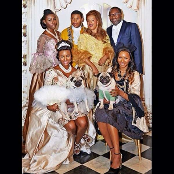 Femi Otedola And Family