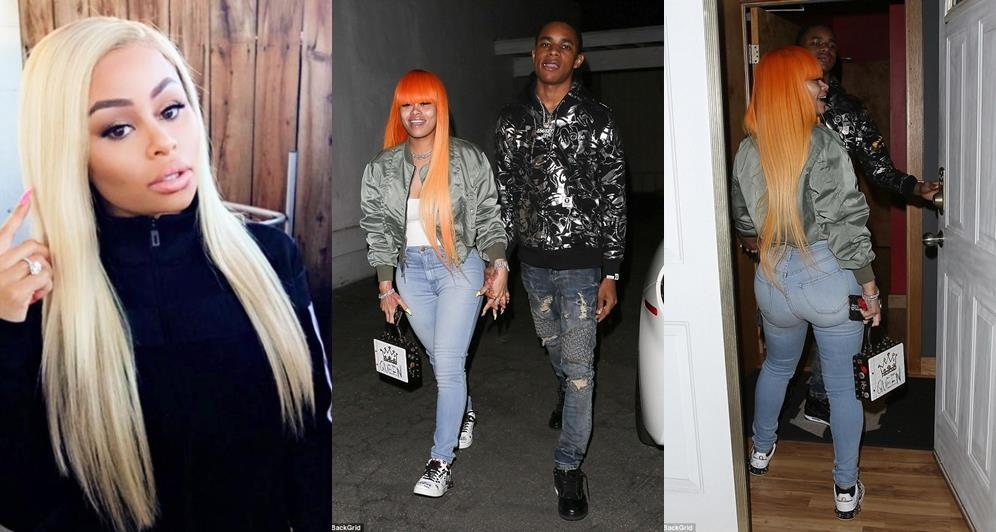 Blac Chyna Finally Confirms She's Dating 18-Year Old Rapper YBN Almighty Jay (Photos/Video)