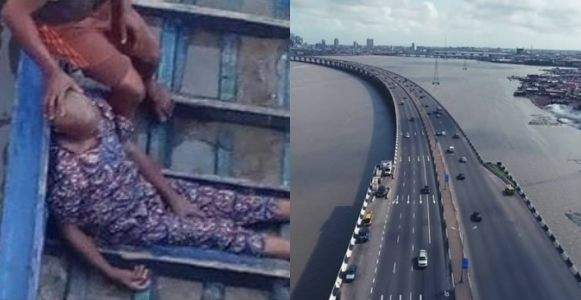 Married Man Jumps Off 3rd Mainland Bridge This Morning Photo 1