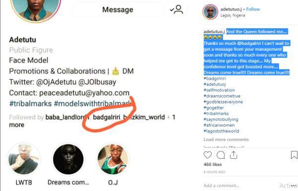 Nigerian Model With Tribal Marks Finally Gets Rihanna Tile